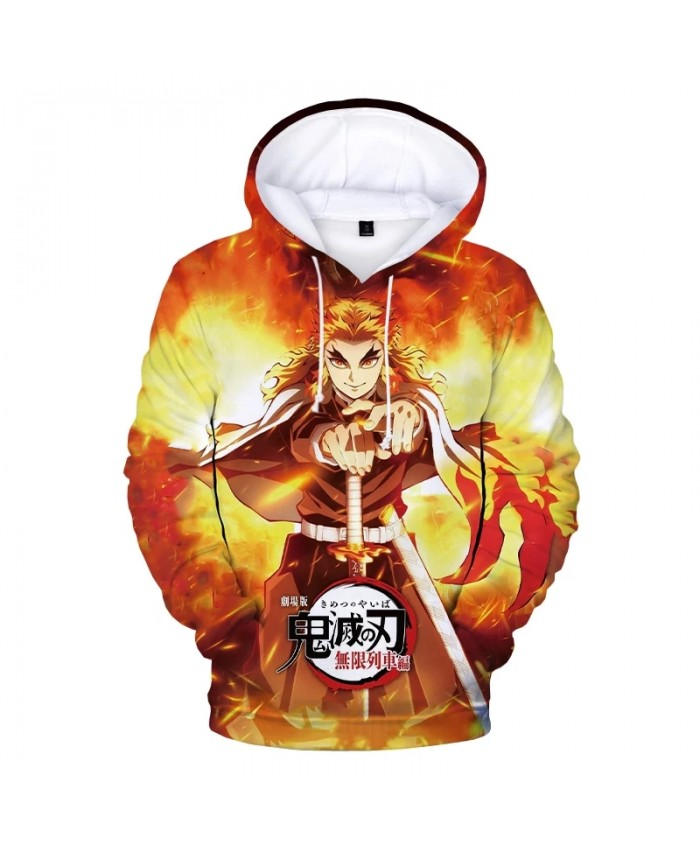 2021 Hot Anime Demon Slayer 3D Print Hoodies Men Women Fashion Casual Cool Pullover Harajuku Streetwear Hoodie Sweatshirts