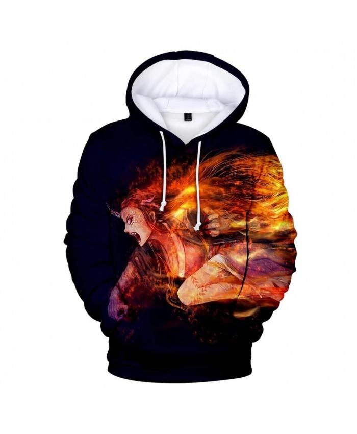 New Autumn Ghost Blade 3D Hoodies Men Women Sweatshirts Harajuku Hoodie pullovers Print 3D Demon Slayer Hoodies Kids Hoodies