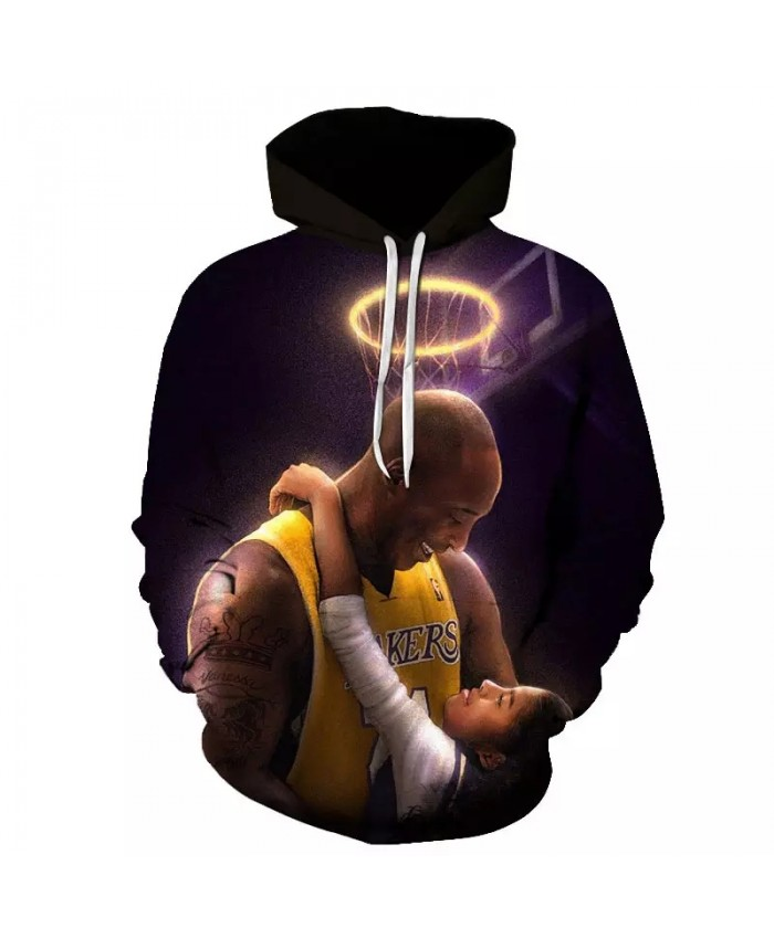 All-star basketball hoodie autumn and winter men's and women's polyester high-quality printed casual long-sleeved sportswear