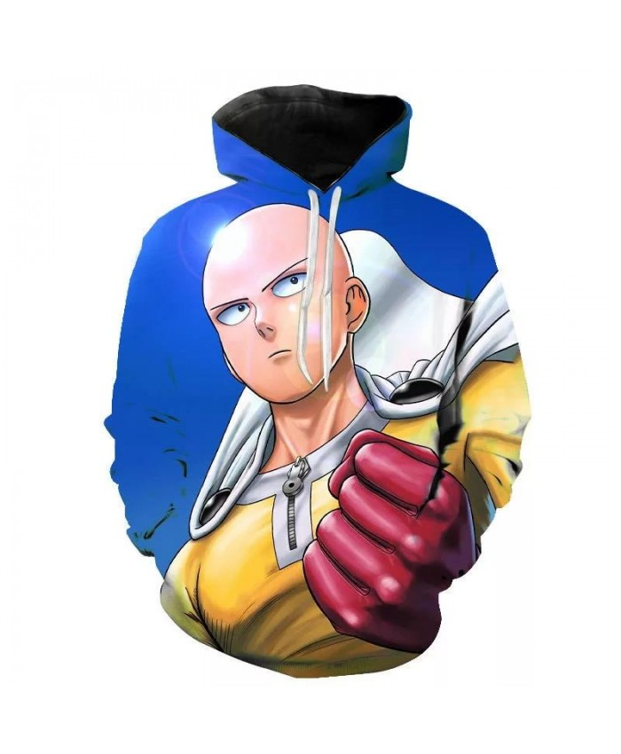 Anime One Punch Man Cosplay Costume Saitama Oppai 3D Printed Oversized Women Men Hoodies Sweatshirts Casual Tracksuit Hip Hop