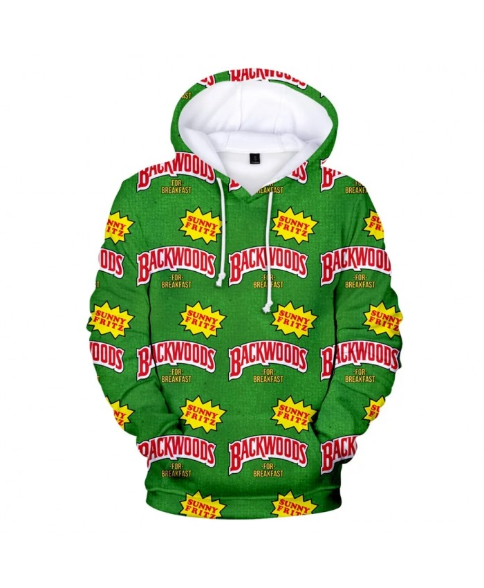 Children Adult BACKWOODS CIGARS Hoodies Sweatshirts Winter Autumn Print 3D Harajuku Kpop Pullover Oversize Boys Girls Sweatshirt