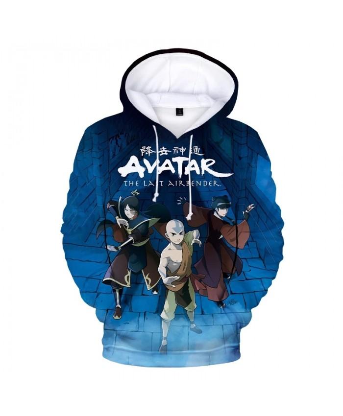 Avatar The Last Airbender 3D Hoodie Sweatshirts Unisex Fashion Casual Cartoon Pullover Men Harajuku Streetwear Anime Hoodies