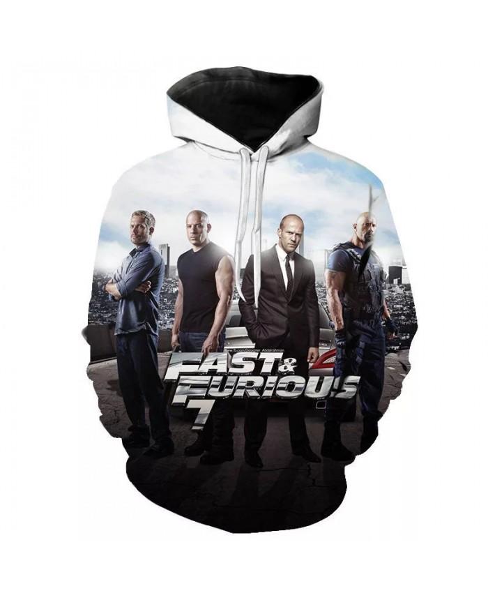 2021 New Aikooki Fast-Furious 3D Hoodies Men Women Children Cool Sweatshirts Fashion Pullover Boy Girl Hoody Streetwear Tops