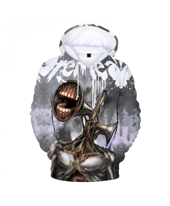 2021 Siren Head 3D Print Hoodie Sweatshirts Men Women Fashion Casual Pullover Horror Game Harajuku Streetwear Cool Hoodies