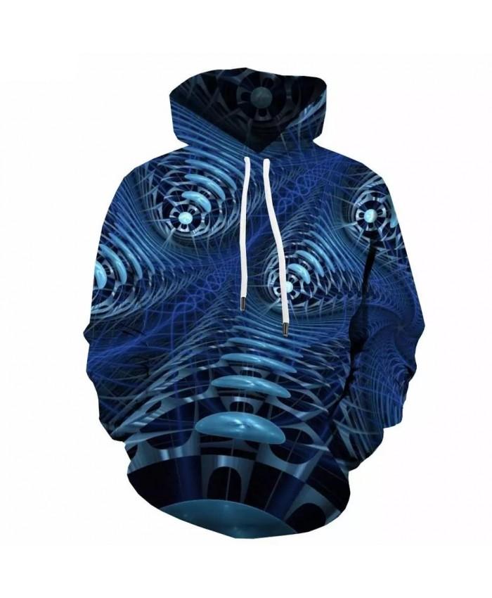 3d Hoodies Abstract Sweatshirts men Psychedelic Hoody Anime Dizziness Hoodie Print Metal 3d Printed Unisex Funny Pullover
