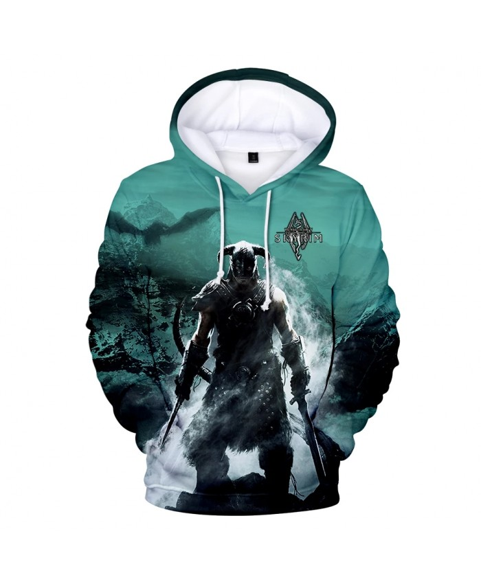 KPOP 2021 new hot Products Top Games Elder Scroll V 3D Print Long Sleeve Top Fall Casual Hoodie Sweatshirt Wear XXS-4XL clothes