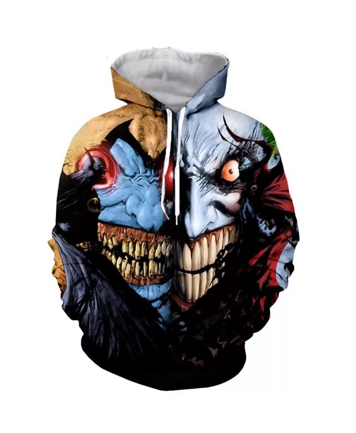 Anime Spawn Fashion Long Sleeves 3D Print  Hoodies Sweatshirts Jacket Men women