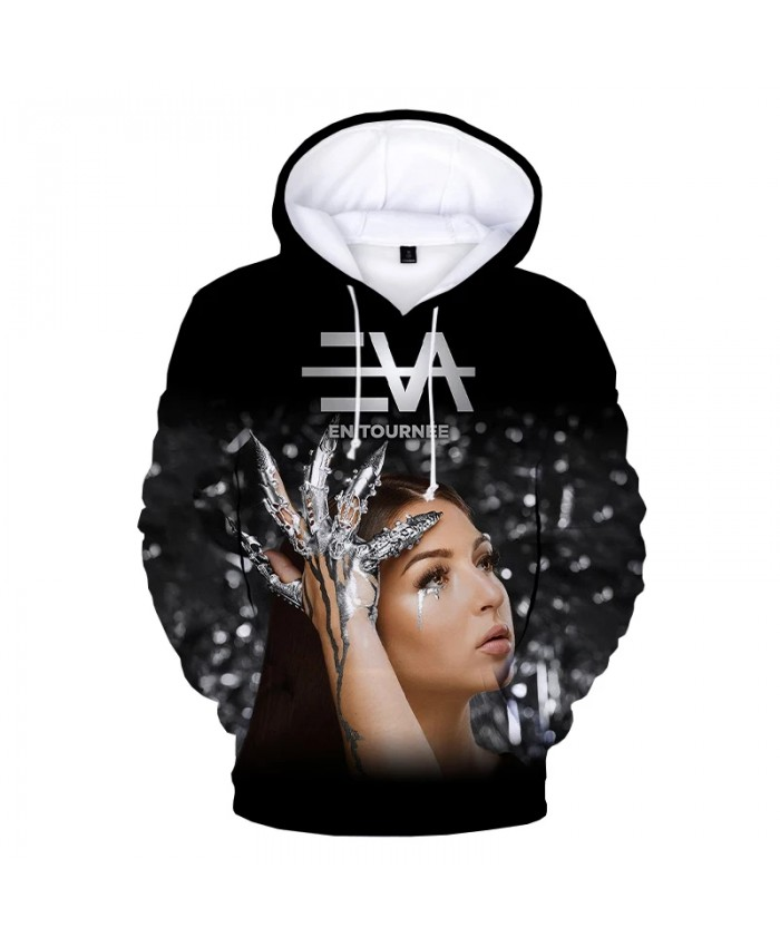 New Arrival 3D Eva Queen Hoodie Streetwear Hip Hop Funny Hoodies Unisex 3D Print Hooded Sweatshirts Fashion Casual Pullover