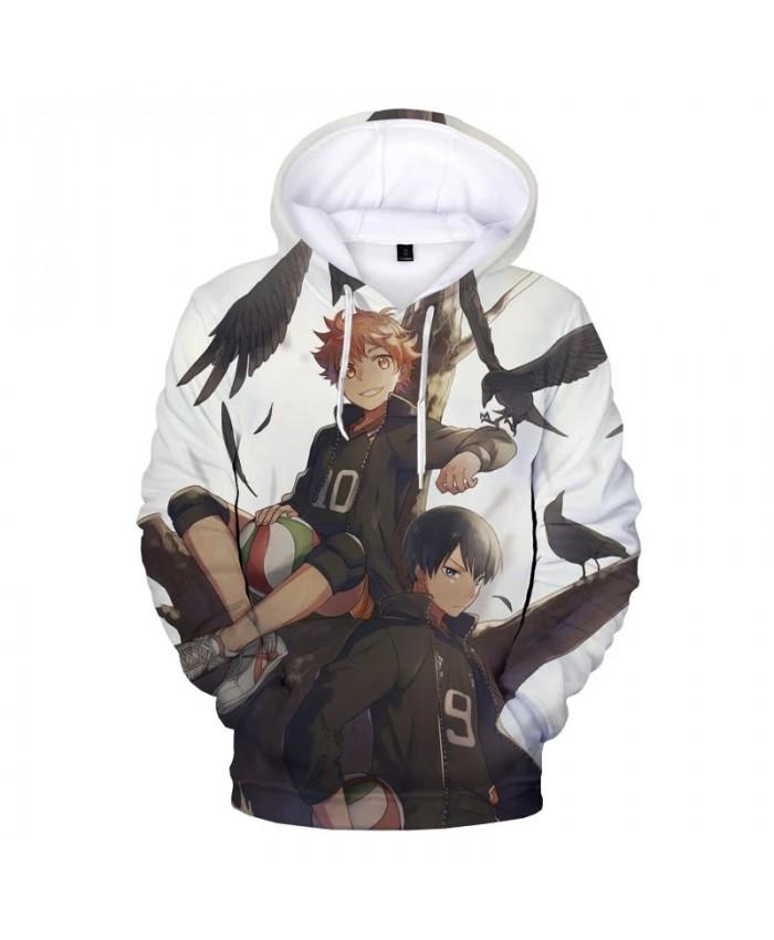 2021 Haikyuu Hinata Shoyo 3D Print Hooded Sweatshirts Men Fashion Casual Anime Hoodies Harajuku Streetwear Cool Pullovers