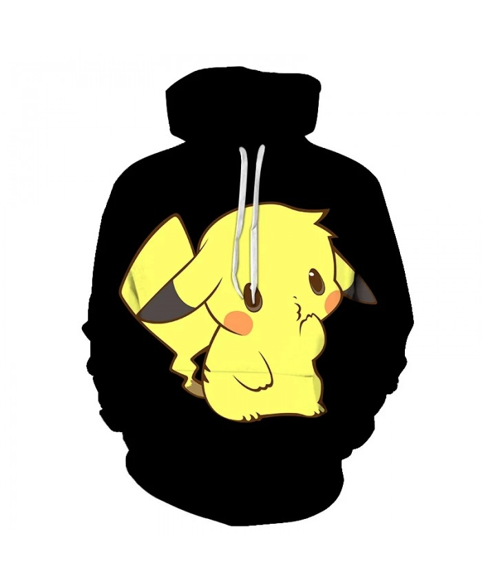 Spring And Autumn Men's And Women's Hoodies 3d Printing Children's Cartoon Anime Sweatshirt Casual Long-Sleeved Coat