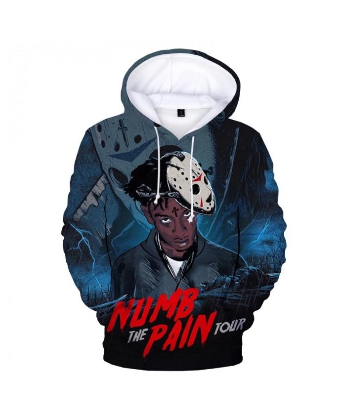 2021 Fashion Rapper YoungBoy Never Broke Again 3D Print Hoodie Sweatshirts Men Women Autumn Casual Pullover Streetwear Hoodies