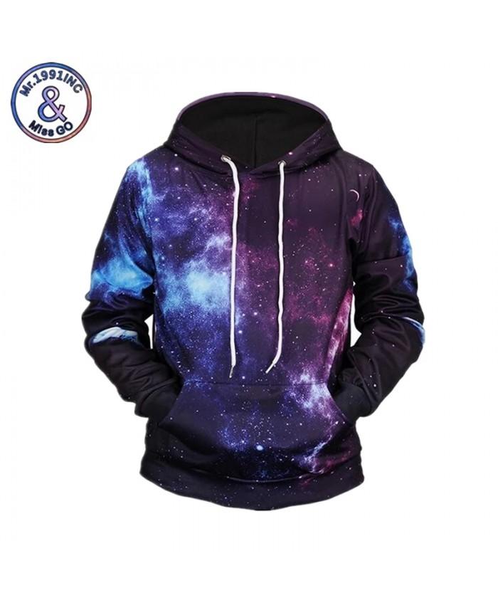 Space Galaxy 3d Sweatshirts Men Women Hoodies With Hat Autumn Winter Unisex Thin Hooded Hoody Tops