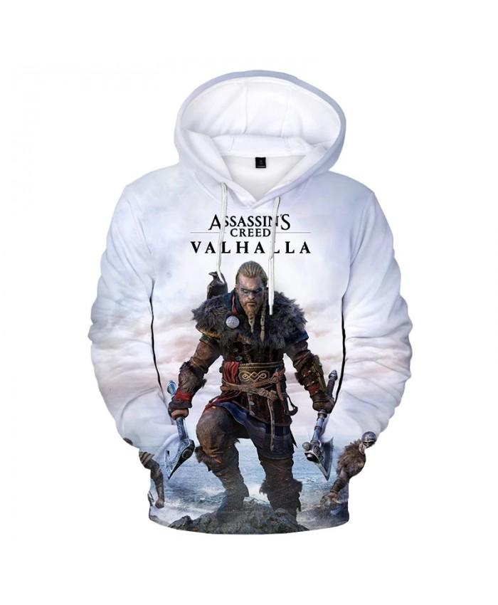 New Game Assassins Creed Valhalla 3D Print Hoodie Sweatshirts Men Women Fashion Casual Cool Pullover Harajuku Street Hoodies