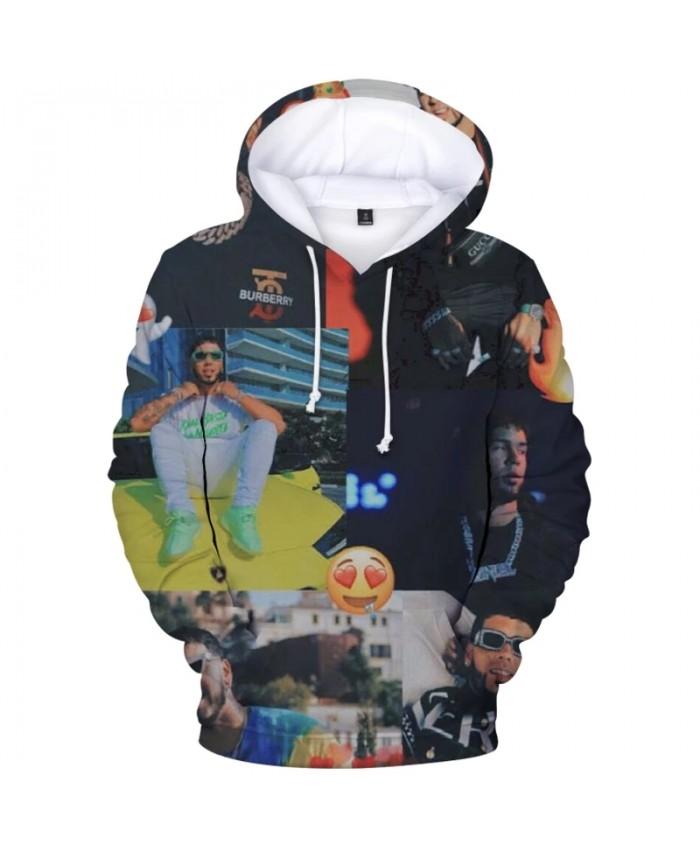 Autumn Women men Pullovers Hoodies ANUEL AA Sweatshirt Streetwear 3D Sweatshirts Boys Girls Printing Harajuku Hoody Clothes