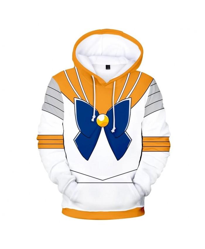 Autumn 3D Sailor Moon Character Costume Hoodies Men Women Hoodie Children Sweatshirt 3D Sailor Moon boys girls yellow pullovers
