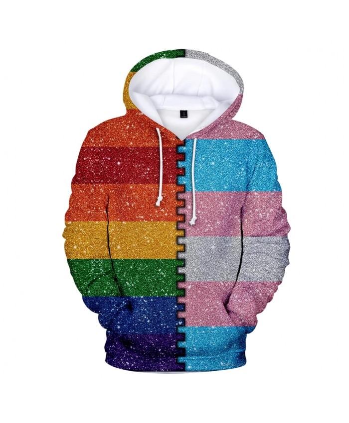 2021 Love Hoodies Men women Fashion Hip Hop Pride High Quality 3D Print Lesbian Gay New Streetwear Sweatshirt