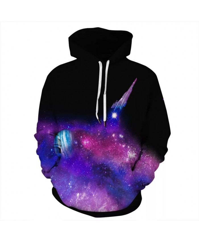 2021 New Space Galaxy Hoodie 3D Sweatshirts Men Women Hooded Coat Streetwear Hooded Hoody Plus Size S-3XL