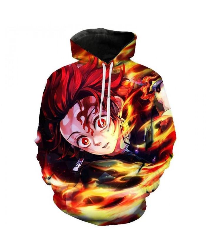 2021 Anime Avatar The Last Airbender 3D Tie Dye Men Hoodie Plus Size Round Neck Stranger Things Moletom Homem Sweatshirt 5XL