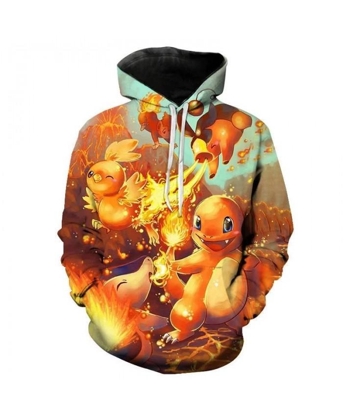 2021 Fall Men's Hoodie 3d Printing Cartoon Anime Cute Children's Sweatshirt Pullover Long Sleeve Casual Coat