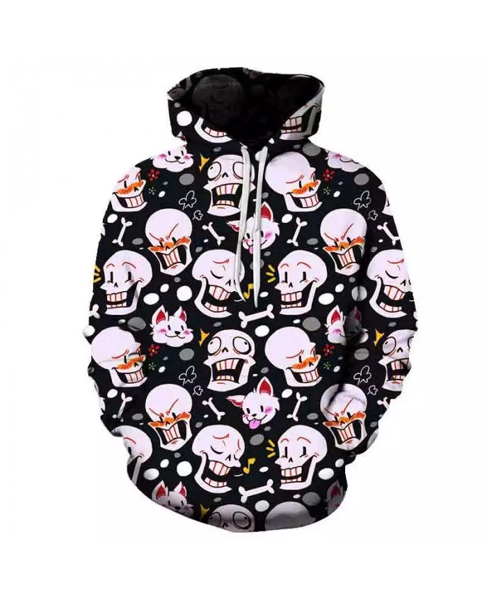 undertale 3D printing printed hoodie men women casual cartoon jacket street wear hip hop anime pullover top fun game sweatshirt