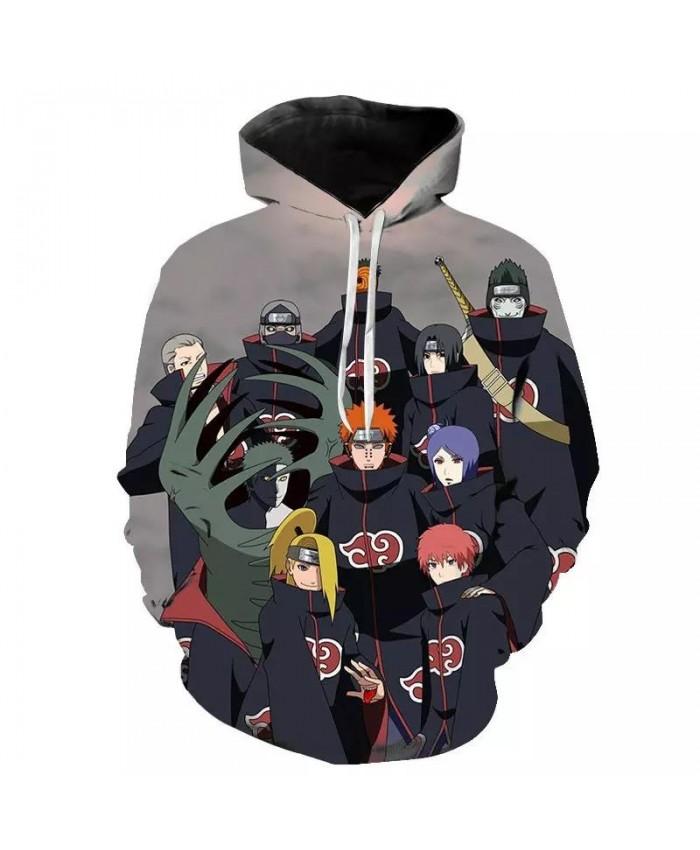 3D Naruto Hoodies Men women Sweatshirt New Fashion Hooded Autumn Casual 3D Cartoon Naruto Harajuku Hip Hop BoysPullovers Hip Hop