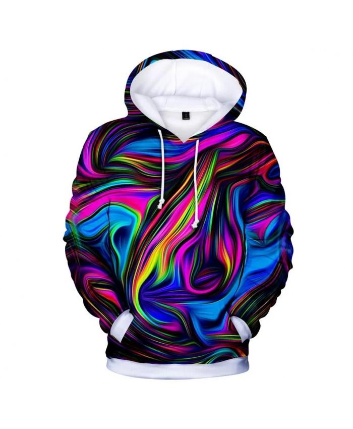 Fashion Colorful 3D Hoodies Men Women High Quality Harajuku Magic Swirl Pattern 3D Men's Hoodies and Sweatshirt Polluvers Top