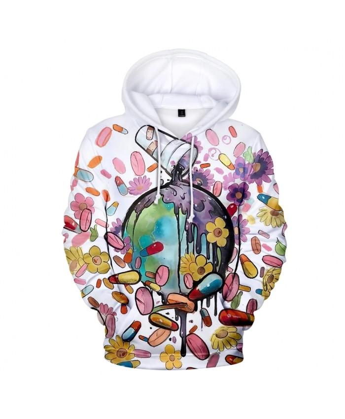 Fashion 3D Juice WRLD Hoodies Men Women Sweatshirts Autumn Harajuku pullovers suitable 3D Juice WRLD boys girls Hooded