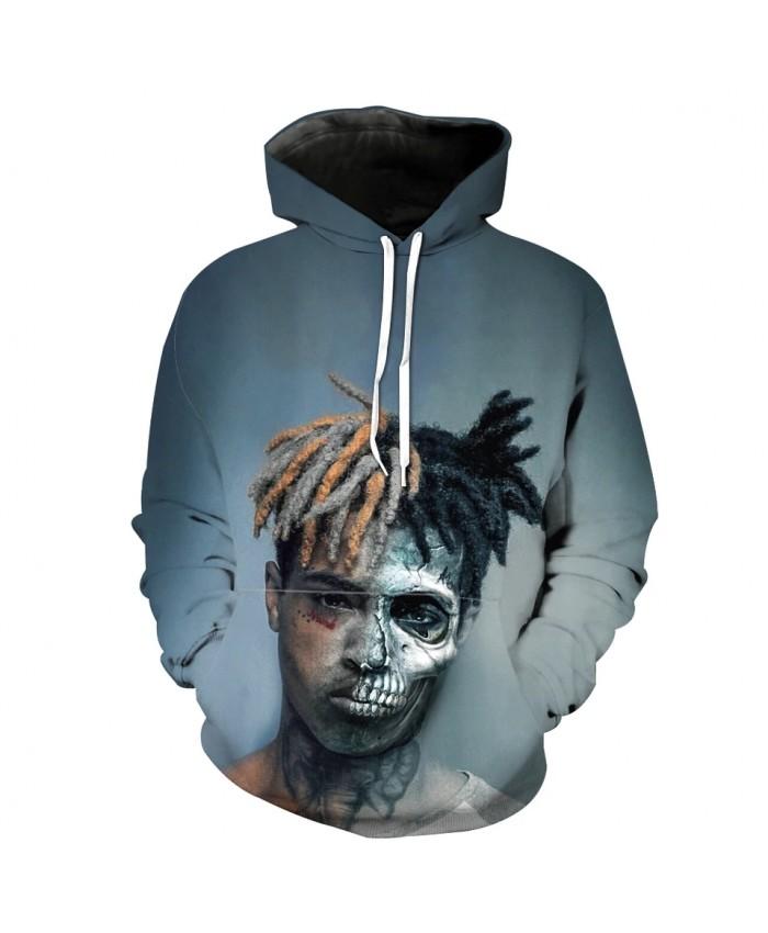 Handsome boy cool 3D hooded sweatshirt fashion men's hoodie