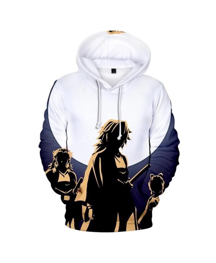 Hot Hip Hop Casual 3D Ghost Blade Hoodies Men Women Streetwear Sweatshirt Fashion Comic 3D Kids Demon Slayer children Hooded
