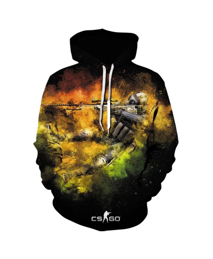 2021 Game CS GO Costume Sweatshirt Hot Counter Strike Global Offensive 3d Printed Hoodie High Quality Men women Hoodies Cosplay