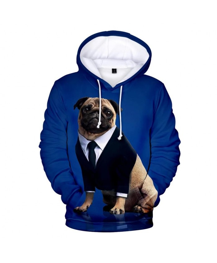 3D printed Pug Hoodies Men Women Sweatshirt Harajuku Autumn Kids Tops Casual Pug 3D Hoodie Pullovers Boys Girls Sweatshirs