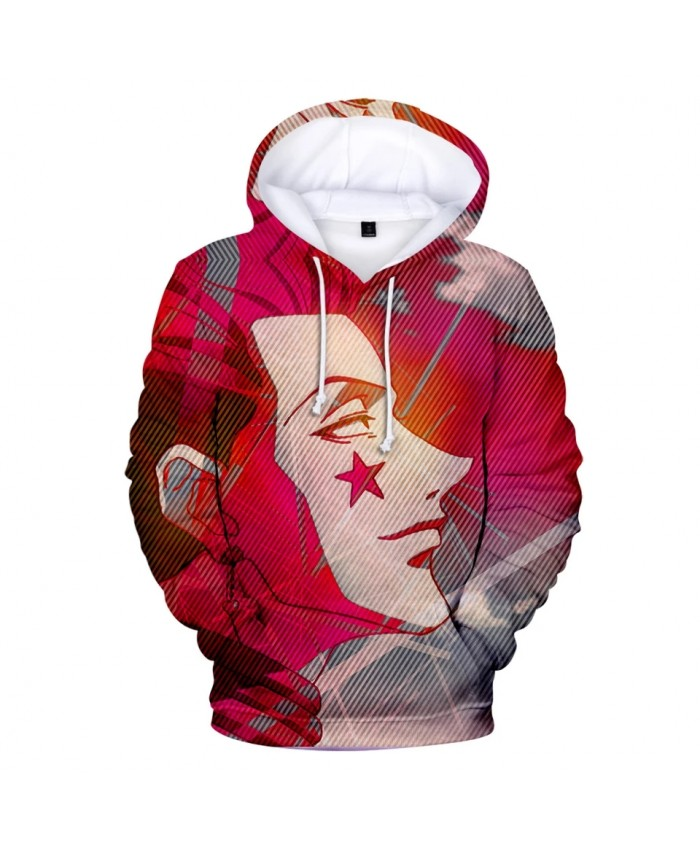 3D Hoodies Men women Fashion Hip New Harajuku Hisoka Hot 3D Print Men's Hoodies Sweatshirt Top