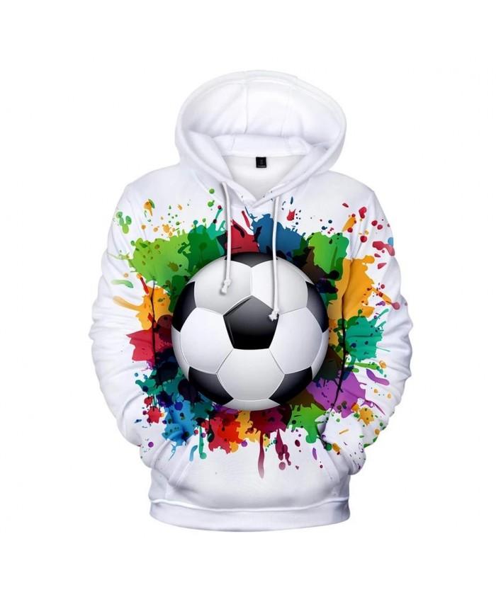 Autumn 3D football soccer Hoodies Men Women Sweatshirts Fashion Kids Hoodie Suitable 3D football soccer boys girls pullovers