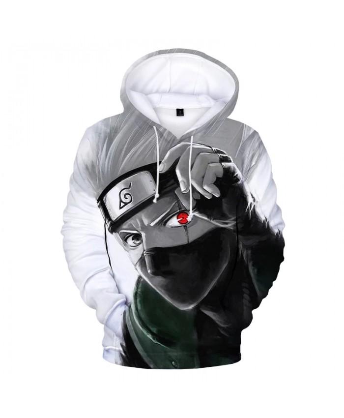 2021 New Arrival Naruto Kakashi 3D Print Hoodie Sweatshirts Men Women Fashion Casual Cool Pullover Anime Cosplay Hoodies