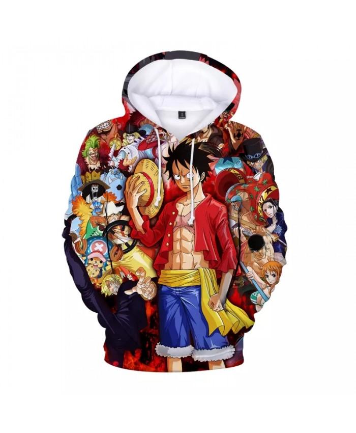 One Piece Hoodies Women Men Harajuku Anime Pullovers Hoodies Sweatshirts Ulzzang Long Sleeve Male Hooded Hoody Streetwear Tops