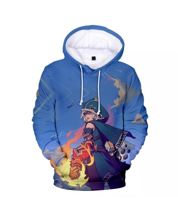 2021 Hot Game Spellbreak Hoodies Men women Cartoon Element Hoodie Personality Casual Children Sweatshirts Long Sleeve Pullovers