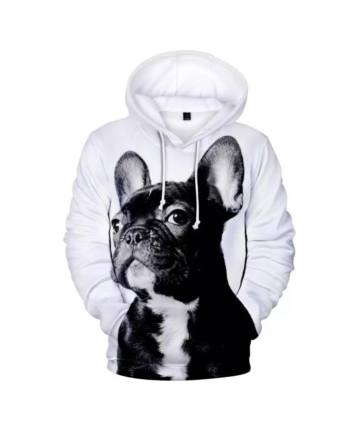 Fashion French Bulldog Hoodies Men women Hot Harajuku 3D Print New Hip Hop High Quality French Bulldog Cute Dog Men's Hoodies
