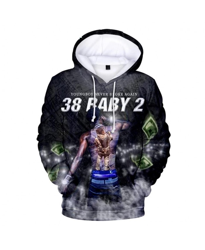Youngboy Never Broke Again Hoodies Men women Fashion Pullover Cotton Harajuku Youngboy Men's Hoodies 2021 3D Print Casual Hooded