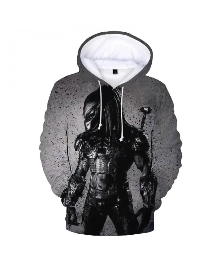 The Predator 3D Printed Hoodies Men Women Casual Hooded Sweatshirts Movie Pattern Hip Hop Pullover Male Fashion Oversized Hoodie