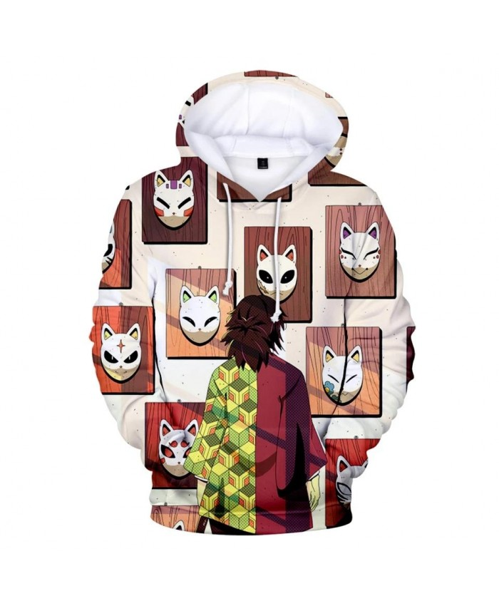 Autumn 3D printed Kimetsu no Yaiba Hoodies Men Women Sweatshirts Hot Kids Hoodie New 3D Demon Slayer boys girls Hooded pullovers