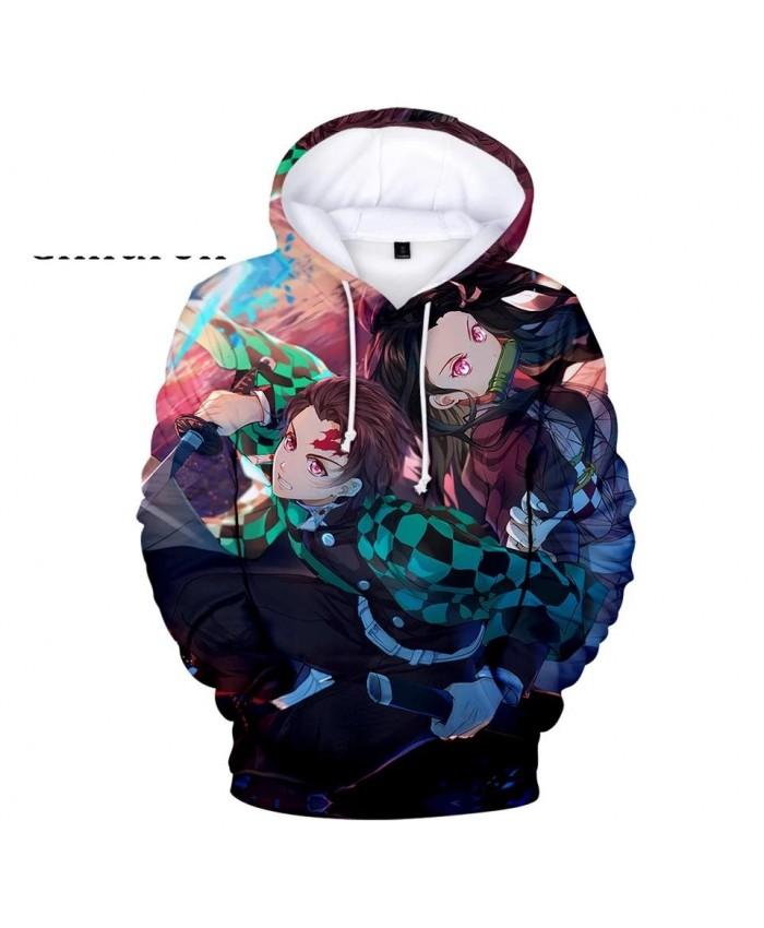 Hot Ghost Blade 3D Hoodies Men Women Streetwear New Sweatshirt 3D Hoodies Kids Autumn Long Sleeve casual 3D Demon Slayer Hooded