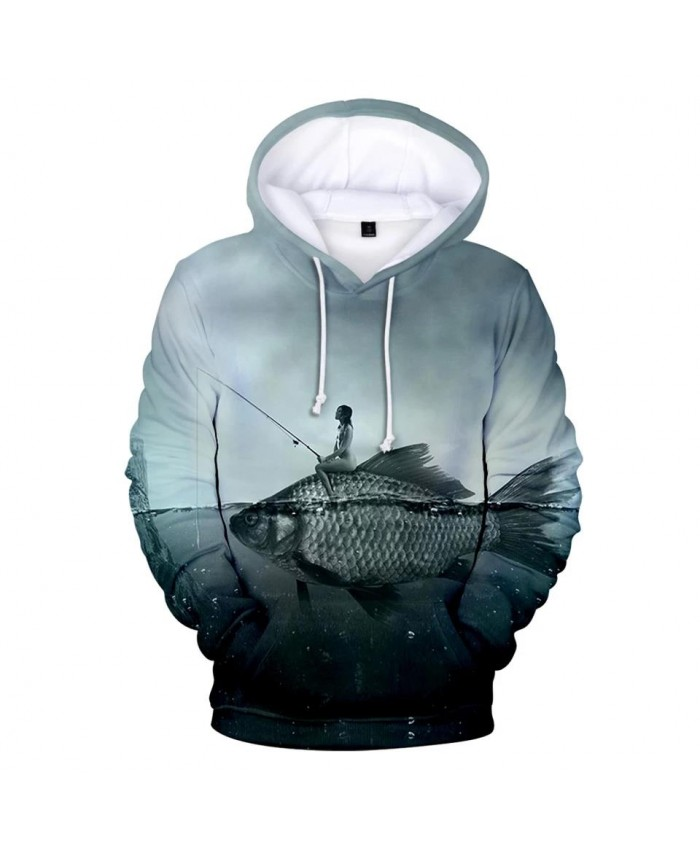 Trendy 3D fish comfortable pullovers male female fashion 3D hoodies children boys girls autumn winter hooded Funny streetwear