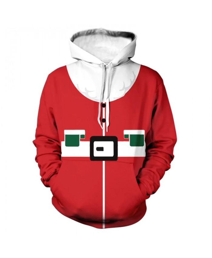 Trendy Santa's Clothes Men Hoodies Christmas Gift 3D Print Sweatshirt Casual Harajuku Hoody Pullovers Oversize Itself Sweatwear