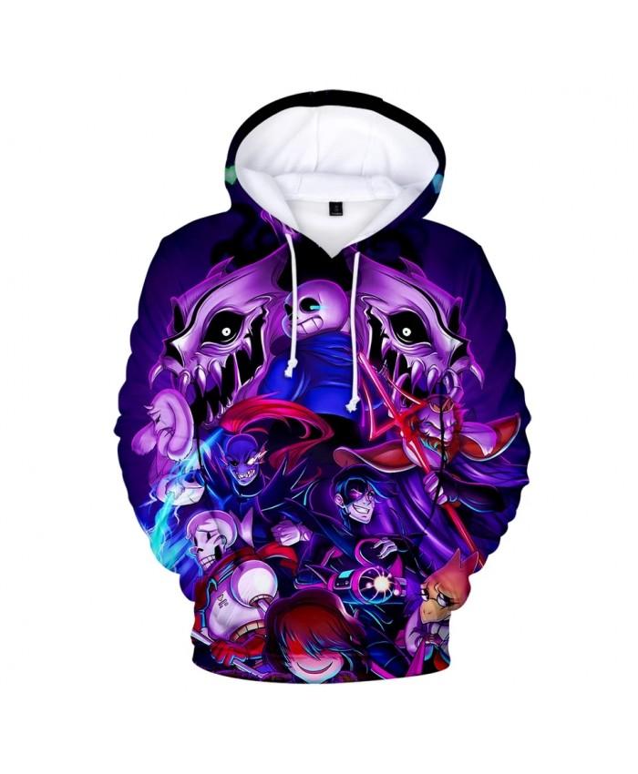 2021 New Undertale Hoodies Men women 3D Print Hot Harajuku High Quality Game Clothes Undertale Men's Hoodies Sweatshirt