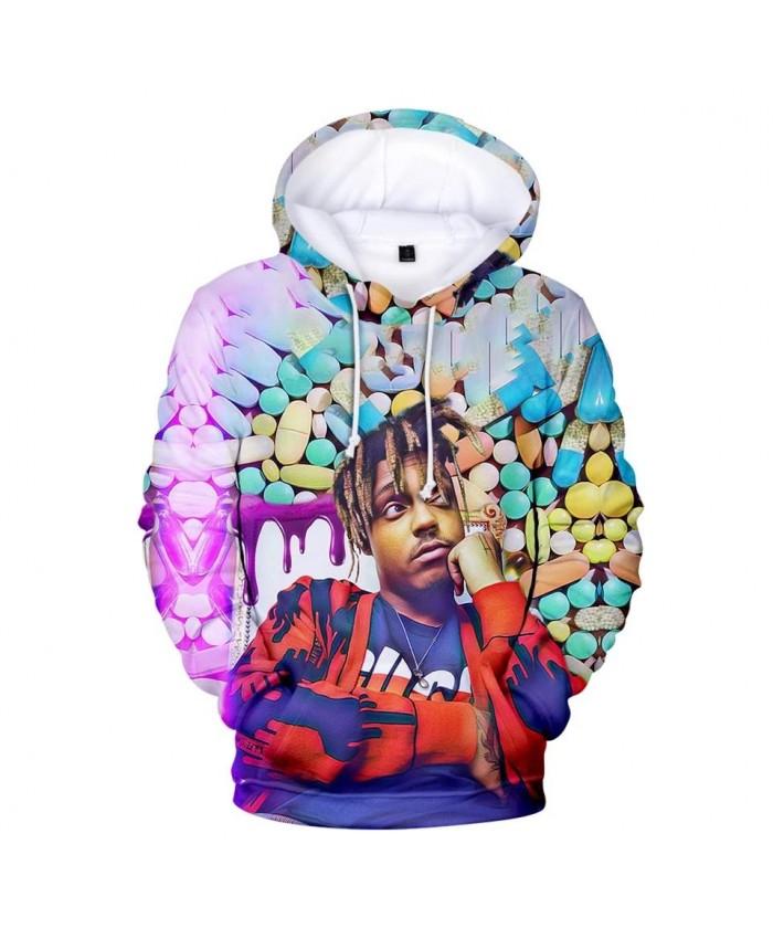 Fashion 3D Juice WRLD Hoodies Men Women Casual Sweatshirts Autumn Hip Hop Kids pullovers suitable 3D Juice WRLD boys girls Tops