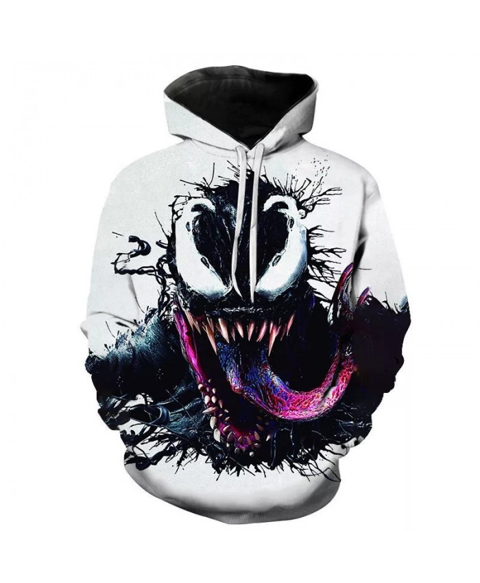2021 New Autumn Venom Hoodie Men's Women's Children's Fashion Casual Sweatshirt 3d Print Pullover Street Hip Hop Harajuku Coat