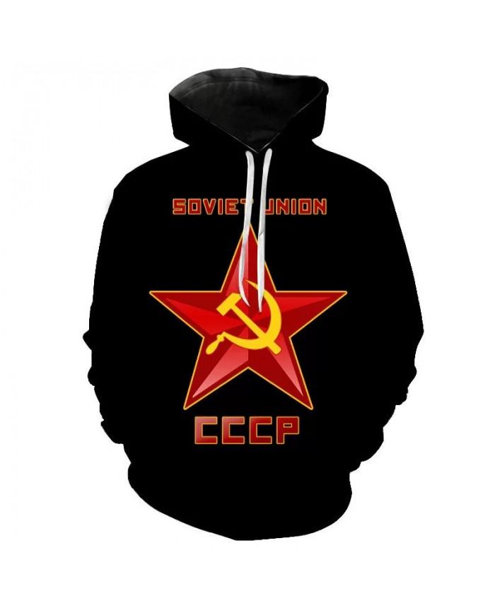 2021 New Men Women Children Hoodies CCCP Russian 3D Sweatshirts USSR Soviet Union Long Sleeve Moscow Cool Pullover
