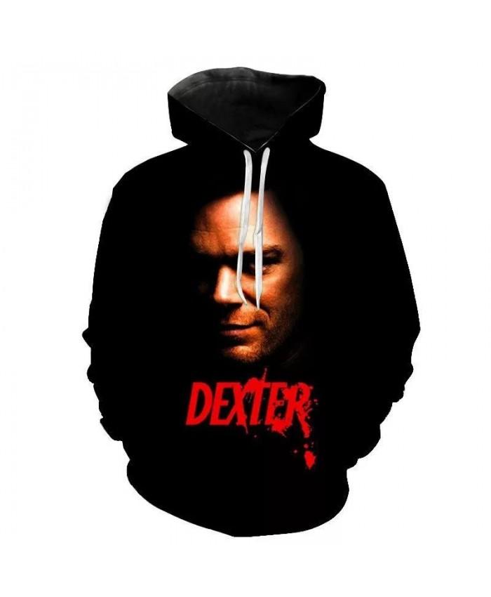 Dexter 3D Printed Hoodies Long Sleeve Men Women Children Fashion Pullover Sweatshirts Streetwear Boy Girl Kids Clothes 3D Jacket