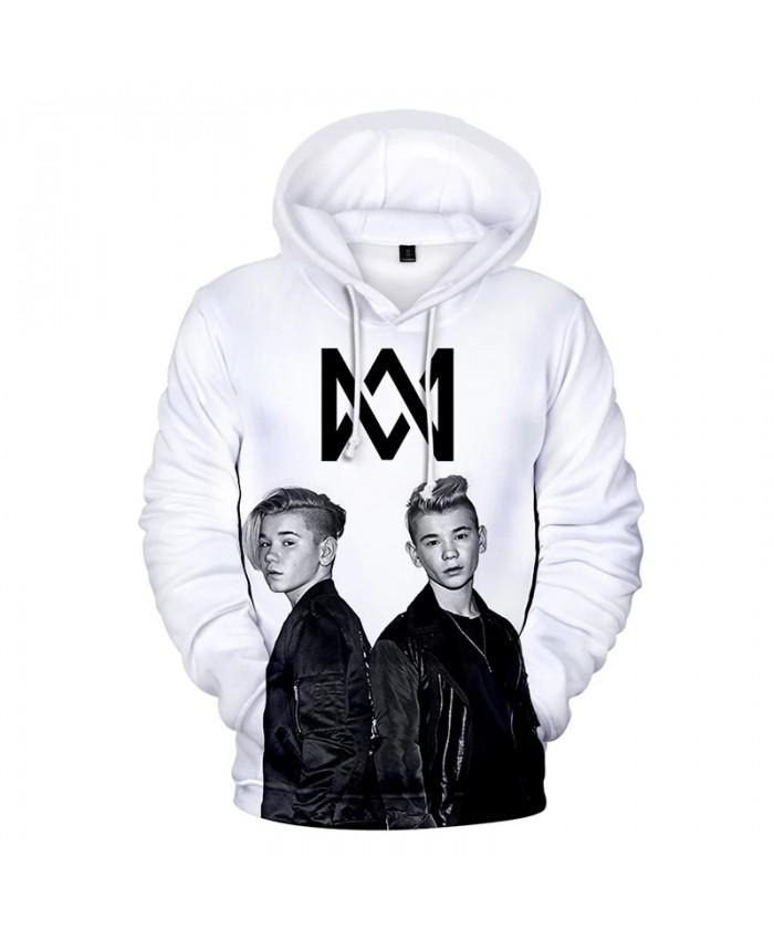 Marcus and Martinus 3D Print Hoodie Sweatshirts Men Women Autumn Fashion Casual Hip Hop Pullover Harajuku Streetwear Hoodies