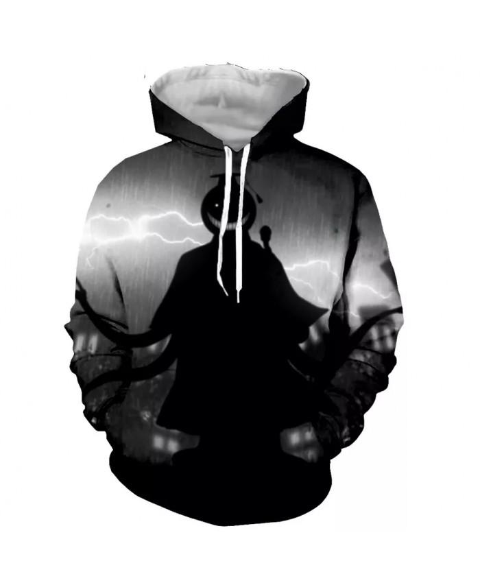 Assassination classroom Fashion Long Sleeves 3D Print  Hoodies Sweatshirts Jacket Men women
